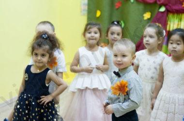 """Детский сад """"Умнички"""" отмечает осень."""